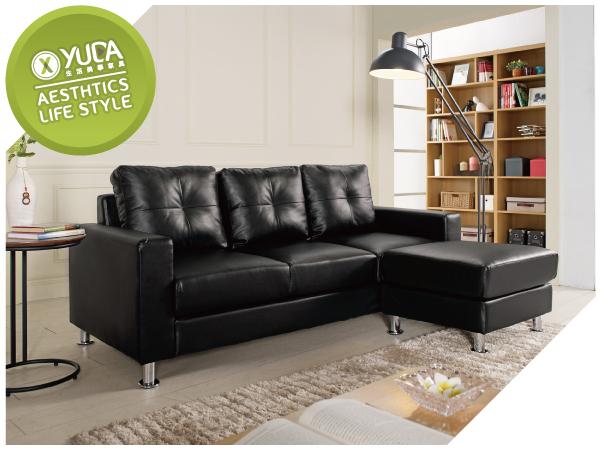 沙發【YUDA】克萊得 L型 沙發(全組)/沙發椅 J9M 703-5