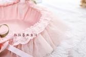 全包布花籃粉色玫瑰佳人節日舞蹈花籃