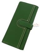 ZODENCE 簡約俐落多分層長夾 綠 Z14H515A01G1