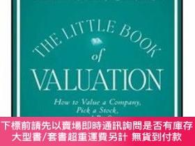 二手書博民逛書店THE罕見LITTLE BOOK OF VALUATION: HOW TO VALUE A COMPANY PIC