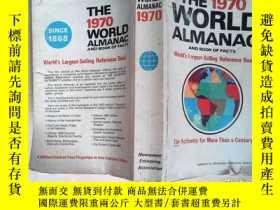 二手書博民逛書店THE罕見1970 WORLD ALMANAC AND BOOK