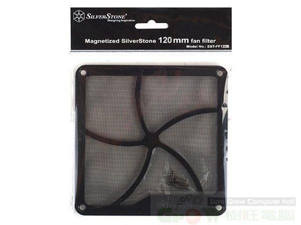銀欣 SilverStone FF122 12公分 磁鐵 風扇 濾網 防塵的好幫手