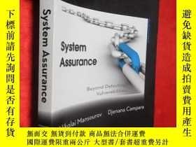 二手書博民逛書店System罕見Assurance: Beyond Detect