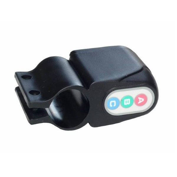 PUSH!自行車用品 密碼式自行車防盜器 警報器A40