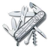 Silver Tech 15用瑞士刀-透明白 VICTORINOX 瑞士維氏