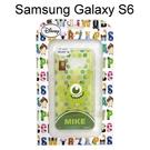 迪士尼透明軟殼 [新點點] 大眼仔 Samsung G9200 Galaxy S6【Disney正版授權】