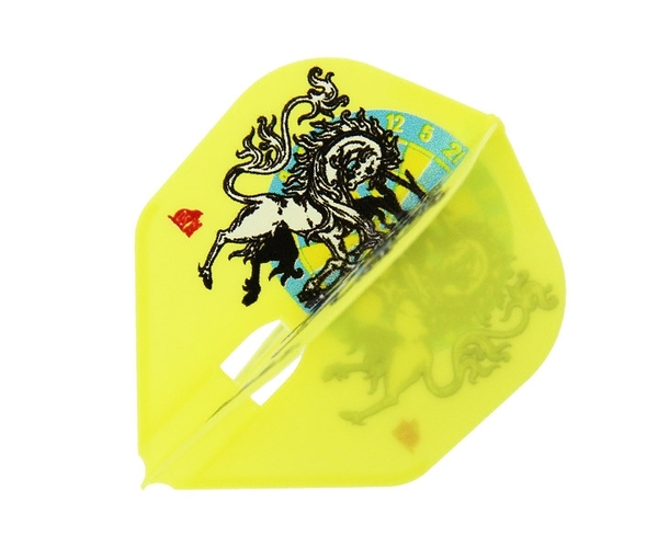 【L-Flight】PRO 柴田豊和 ver.1 Shape Yellow 鏢翼 DARTS