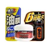 SOFT99 x CROMA 清潔保養懶人組 (撥水劑/除油膜/塑料還原劑)