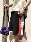 港風男士寬鬆運動五分褲子夏季韓版百搭休閒短褲潮艾美時尚衣櫥