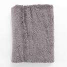 HOLA 埃及棉加大毛巾 墨灰 50x90cm
