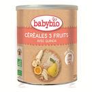 【佳兒園婦幼館】綠動會 法國BABYBIO 有機寶寶米精-水果(220g)