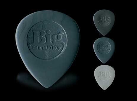 ☆ 唐尼樂器︵☆ DUNLOP Big Nylon Stubby 古典吉他/木吉他/民謠吉他/電吉他用 PICK /彈片