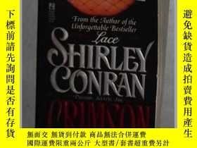 二手書博民逛書店英文原版罕見Crimson by Shirley Conran