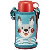 日本 【虎牌 TIGER】兒童保溫保冷杯 兔子 600ml MBR-B06G AR