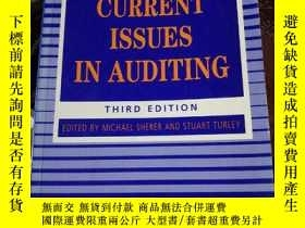 二手書博民逛書店Current罕見Issues in Auditing 審計的現