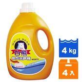 WHITE BEAR白熊軟性洗碗精4kg(4瓶)/箱【康鄰超市】