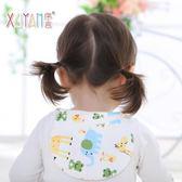 6層紗布加大寶寶吸汗巾兒童隔汗巾純棉嬰兒墊背巾全棉4-6歲超大號