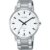 ALBA雅柏 PRESTIGE系列街頭酷流行手錶-白/39mm VJ32-X272S(AG8H35X1)