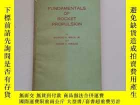 二手書博民逛書店Basic罕見principles of rocket propulsion【火箭推進基本原理】Y22264