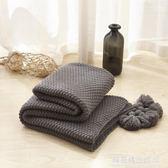 流蘇針織球毯毛線毯辦公室空調午休毯披肩蓋毯沙發休閒毯毛毯