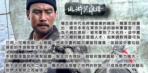 水滸英雄譜 青面獸楊志 DVD  呂良偉 孟廣美 計春華馬精武  (購潮8)