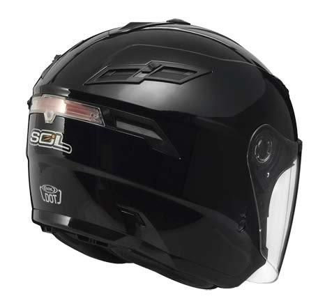 [東門城][預購] SOL SO-1 素色 黑 3/4罩安全帽
