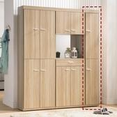【森可家居】羅莎1 尺玄關鞋櫃8HY385 03 高細長窄型收納無印北歐風木紋 MIT