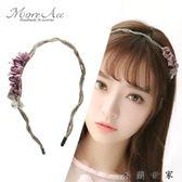 【618好康又一發】頭箍花朵發飾品女日韓版甜美