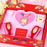 科技博士-彌月金飾音樂禮盒(0.10錢)