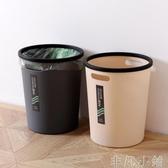 垃圾桶麥迪龍歐式壓圈垃圾桶 家用廚房客廳衛生間辦公室無蓋垃圾筒紙簍 聖誕節LX