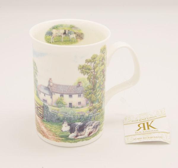 英國Roy kirkham老英國風情系列(共三款可選)-325ml造型把手直杯