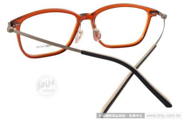 VYCOZ 光學眼鏡 LOUIS BRNGN (透棕-槍銀) 創新EMPLA材質 簡約休閒款 # 金橘眼鏡