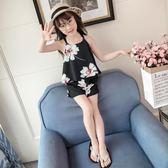 女童夏季2018新款童裝韓版時尚兒童洋氣睡衣 YI723 【123休閒館】