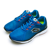 LIKA夢 LOTTO 疾速輕量跑鞋 SPEEDRIDE 加速力系列 藍黑橘 0106 男