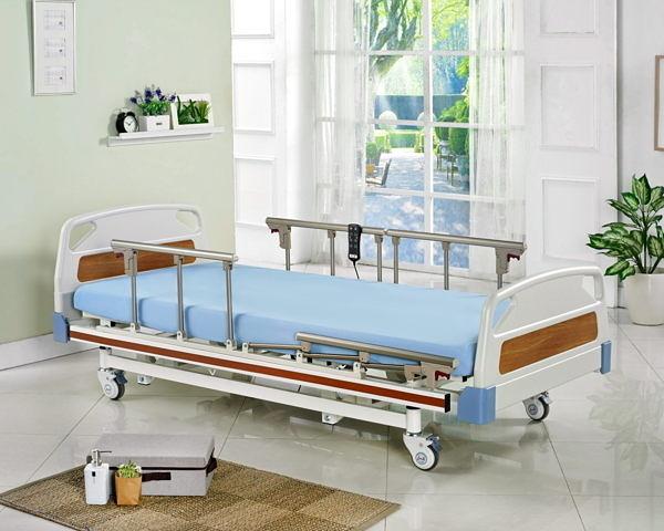 電動床/ 電動病床  電動床(ABS塑鋼板系列)養護型  三馬達(加長款) LM-G03 ABS板  贈4 好禮