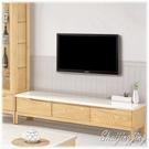 【水晶晶家具/傢俱首選】JM1829-3 丹肯6尺栓木實木石面電視長櫃