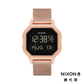 NIXON Siren Milanese 玫瑰金/ 米蘭帶電子錶 A1272-897 NIXON官方直營