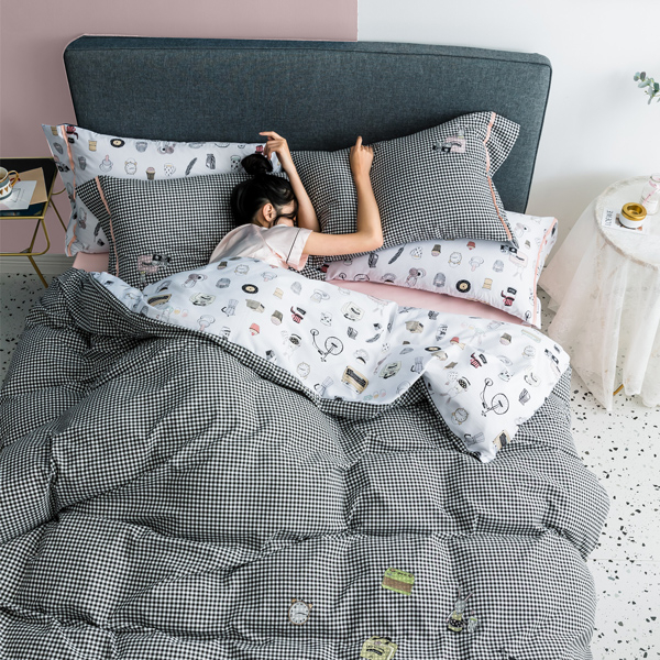 LUXY輕奢天絲綢床包被套組-加大-GRACE【BUNNY LIFE 邦妮生活館】
