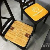 坐墊 籃球俱樂部防滑坐墊 辦公室餐椅墊沙發墊電競轉椅子凳子墊可機洗