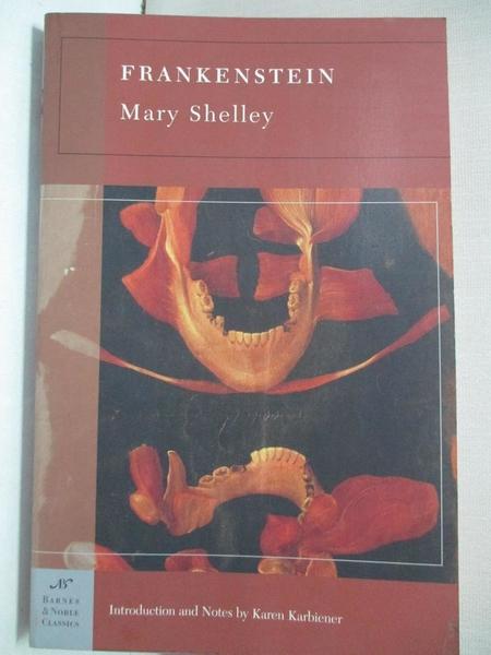 【書寶二手書T1/原文小說_LAX】Frankenstein_Shelley
