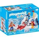 playmobil 滑雪系列 打雪球與堡壘_PM09283