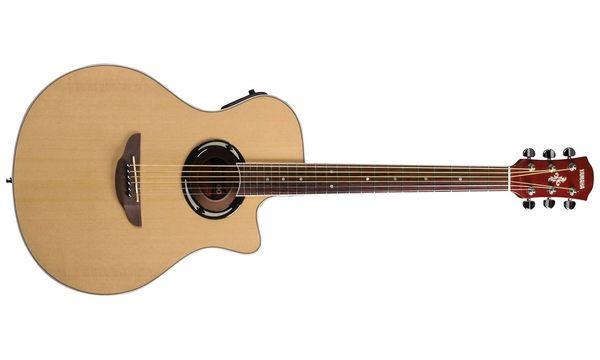【金聲樂器廣場】全新 YAMAHA APX-500II/ APX500II APX 500 II原木民謠吉他 電木吉他 原木色