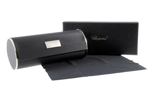 CHOPARD 太陽眼鏡 CPA59S 0300 (金) 典雅時尚飛官款漸層棕 # 金橘眼鏡