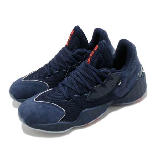 Adidas-Harden Vol. 4 GCA IV James 男款海軍藍籃球鞋-NO.FY0870