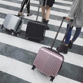 韓版小型行李箱拉桿箱男女18寸密碼登機箱輕便旅行箱包16航空皮箱  蘑菇街小屋 ATF