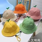 秋天薄款嬰兒漁夫帽男女寶寶春秋ins兒童可愛網紅帽子嬰幼兒冬季 小艾新品