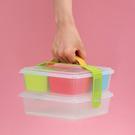 日本製造INOMATA手提式(小型)雙層野餐盒