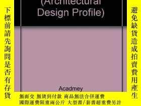 二手書博民逛書店A罕見New Spirit in Architecture (A