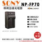 攝彩@樂華 SONY NP-FP70 F...