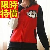 棒球外套女夾克-保暖棉質亮麗隨意美觀美式風休閒典型3色59h124[巴黎精品】